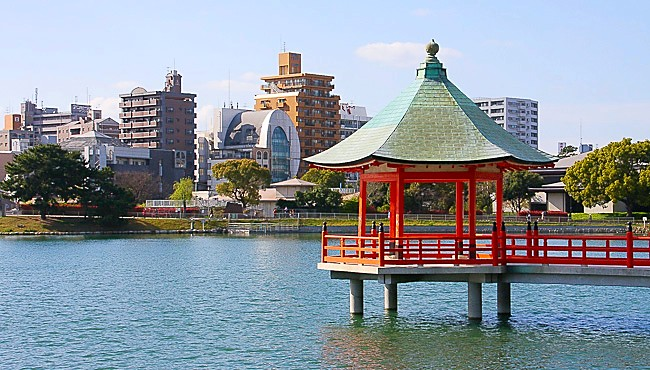Ohori Park Fukuoka Kyushu Island