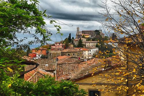 Italy, Tuscany - Montecatini Alto