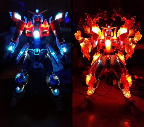 鋼普拉LED技術大研究!你看,我的鋼彈會發光!!!