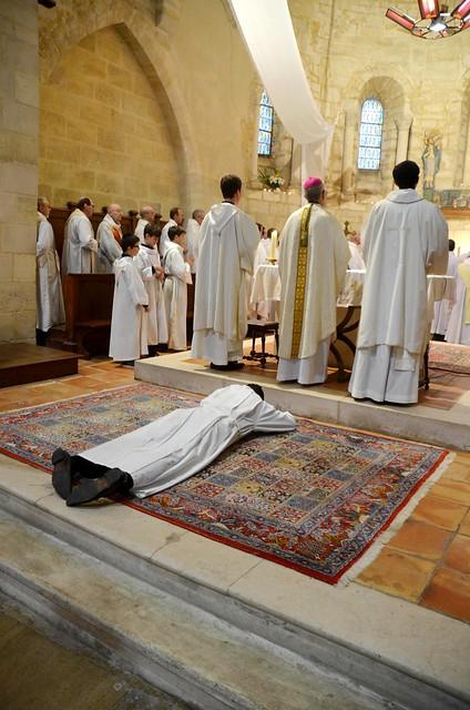 Ordination diaconale de Jean Maurel