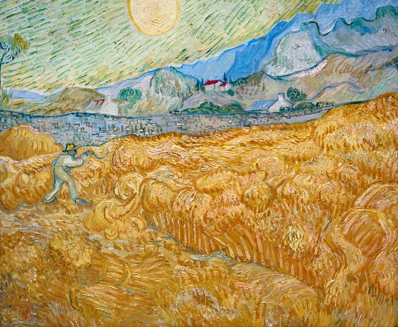 2017-11-23 11-27 Ruhrgebiet 069 Essen, Museum Folkwang, Vincent van Gogh - Die Ernte