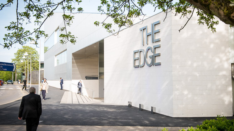 Picture of the exterior of The Edge
