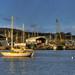 Boatyard at Millbrook Lake, Cornwall