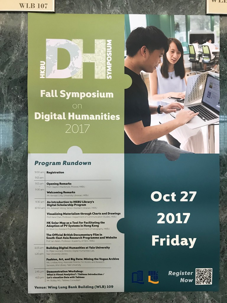 HKBU DH Symposium Fall 2017