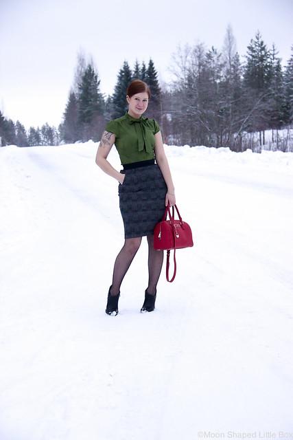 Päivän asu, tyylibloggaaja suomi