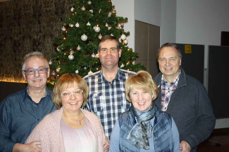Martin & Karin Schmitz, Werner & Angelika Panzer en René Coenjaerts