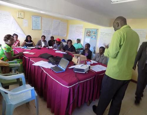 Kenya Tigania - Farmer Field School facilitators training