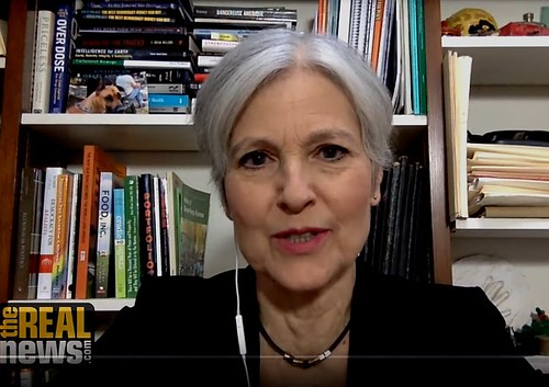Leave Jill Stein Alone by David Swanson + Jill Stein Denounces Probe over 'Collusion with Russians'