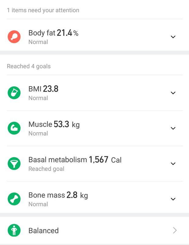Xiaomi 体重計アプリ (7)