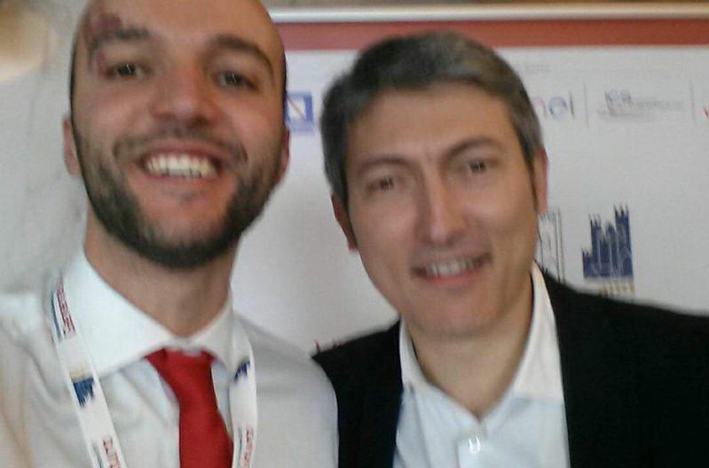 Vito Panzella e Tommaso Pellegrino