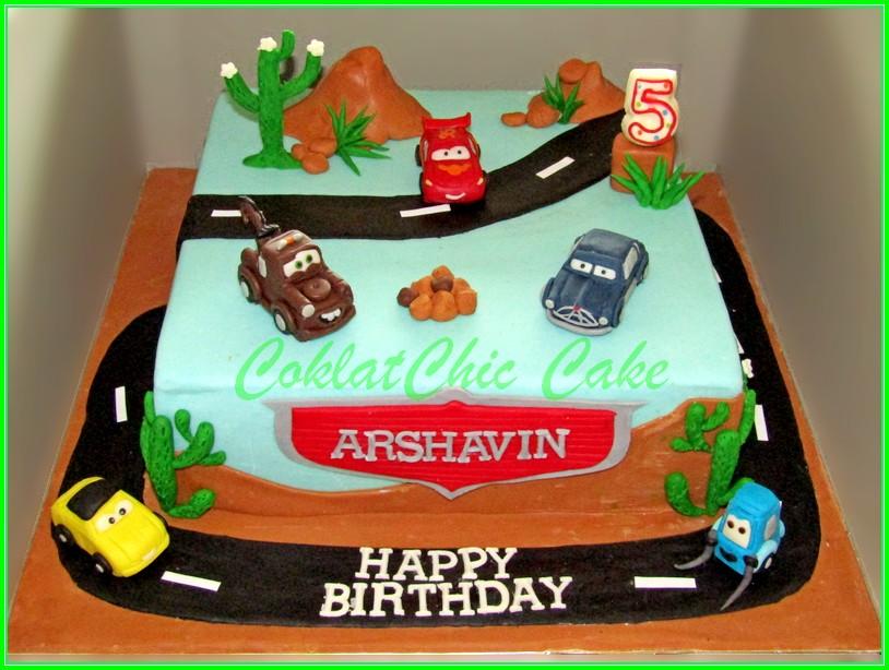 Cake Disney Cars ARSHAVIN 20x20cm