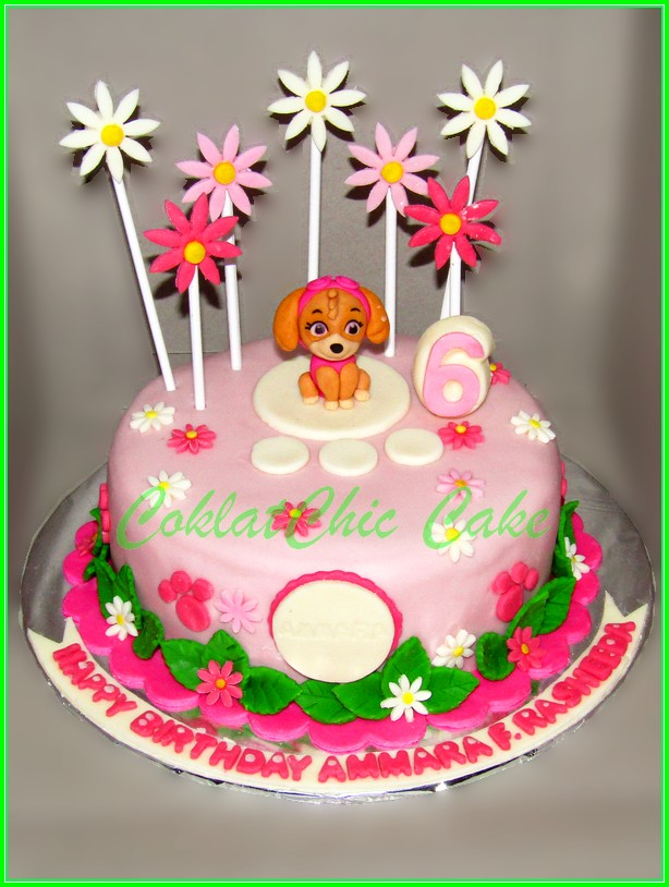 Cake Paw Patrol AMMARA 20cm