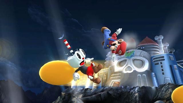 Super Smash Bros - Cuphead 3 (Anivernage)