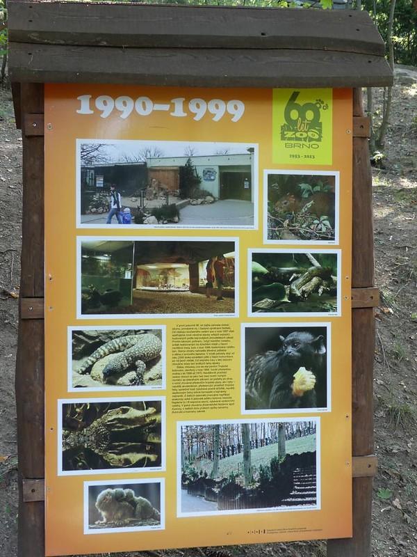 Geschichte Zoo Brno