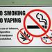 No Smoking, No Vaping, No Marijuana