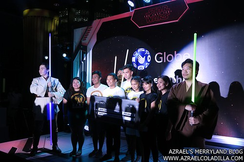 Globe ForceWithin Fight Saber Philippines Donation
