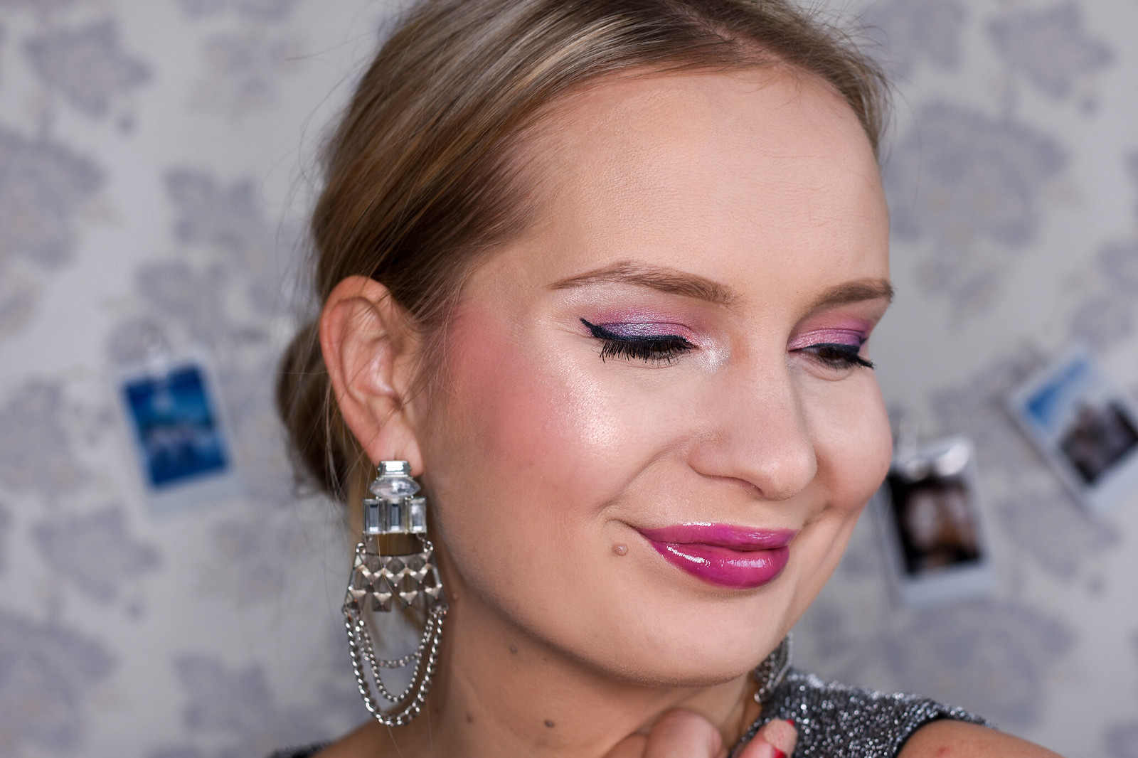 New Years eve makeup look