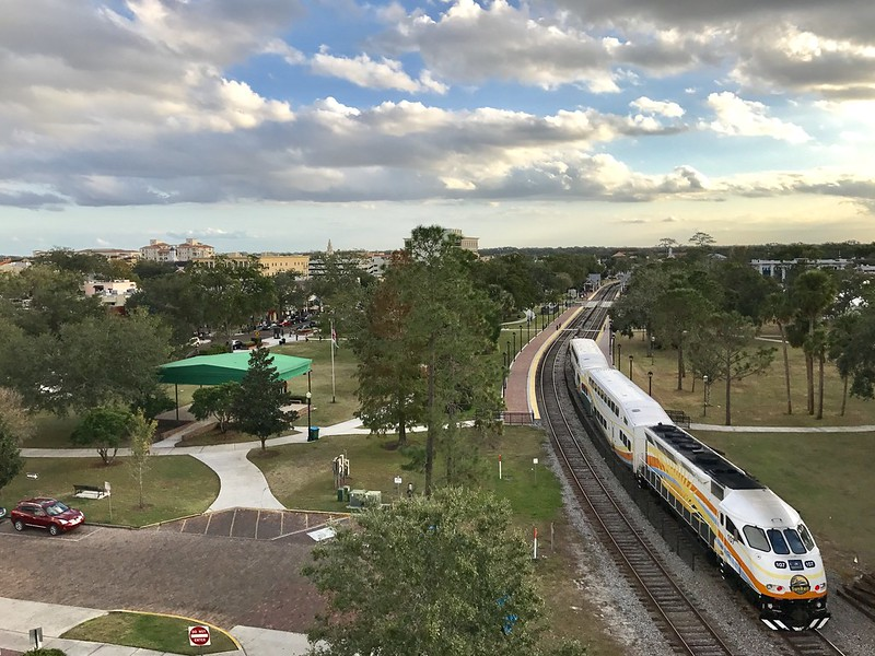 SunRail in Winter Park
