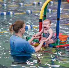 Miss Ella's Swim Lesson