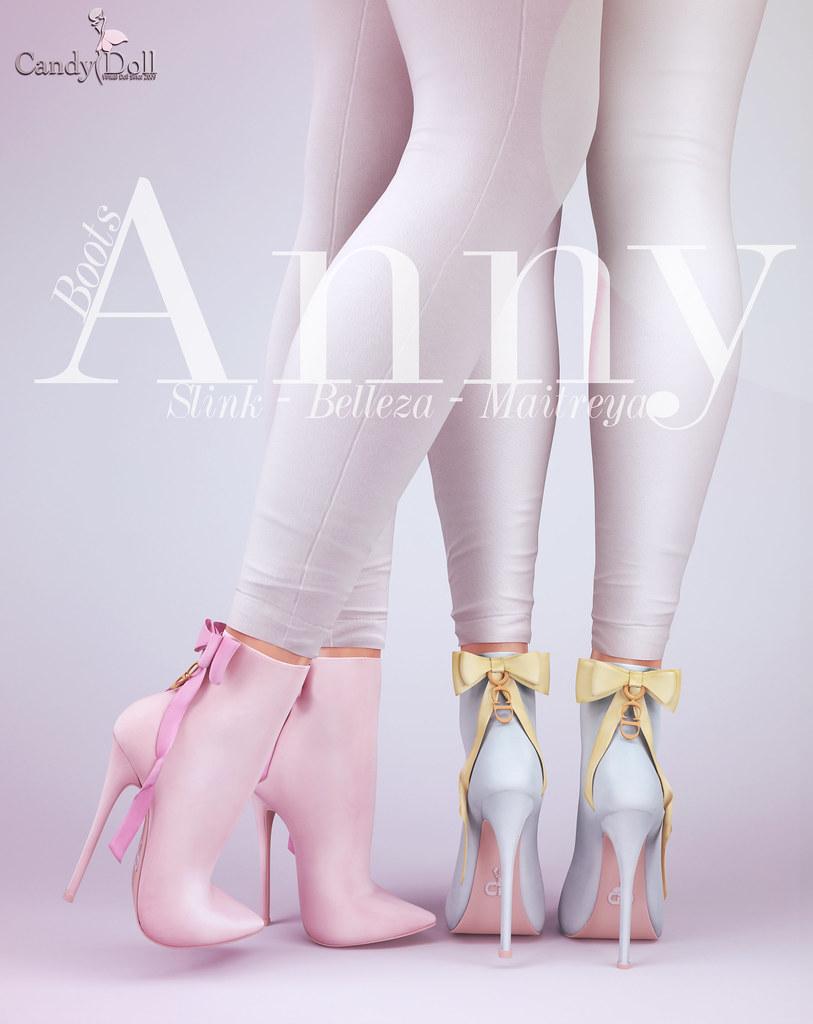 Anny Heels - TeleportHub.com Live!
