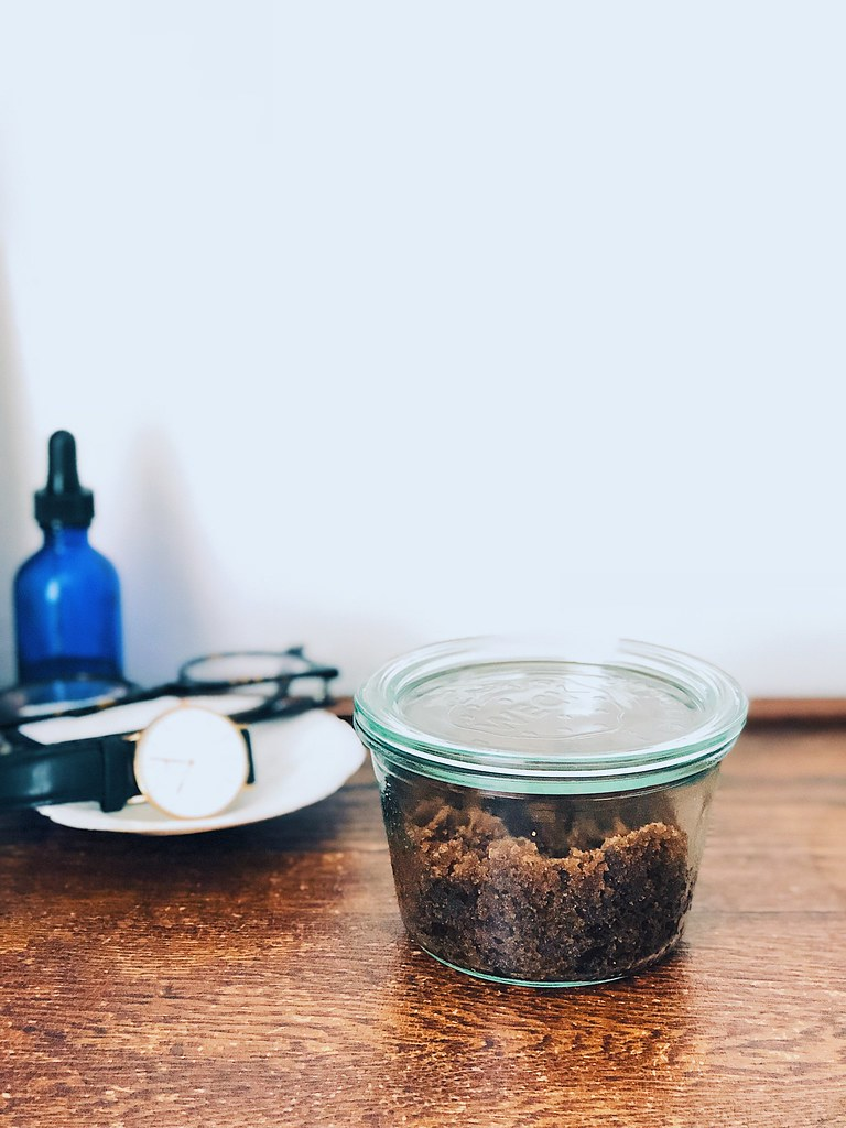 Easy brown sugar scrub