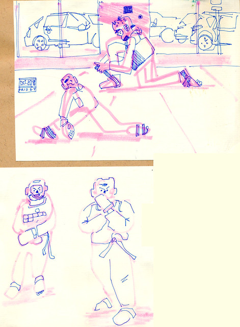 Sketchbook #109: My Life Drawing Class