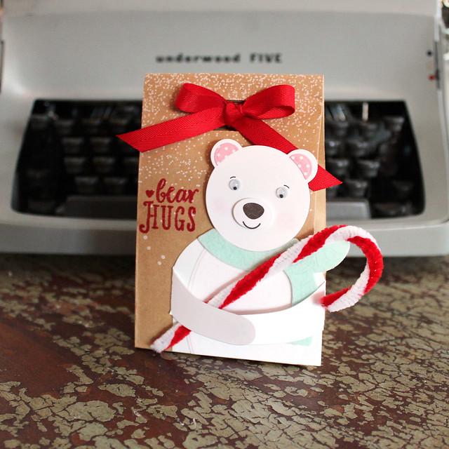 Lizzie Jones - Bear Hugs Treat Bag