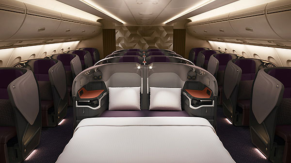 Singapore Airlines A380 Business Class (Airbus)