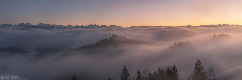 Fog Panorama - Emmental