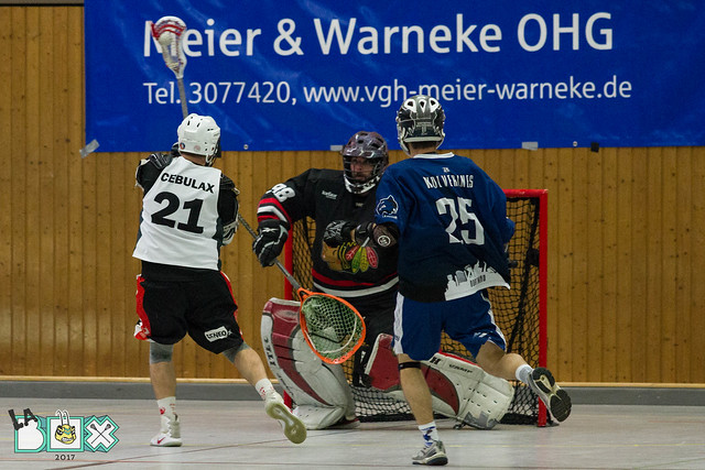 LaBox 2017 Herren Dortmund Wolverines vs. Cebulax