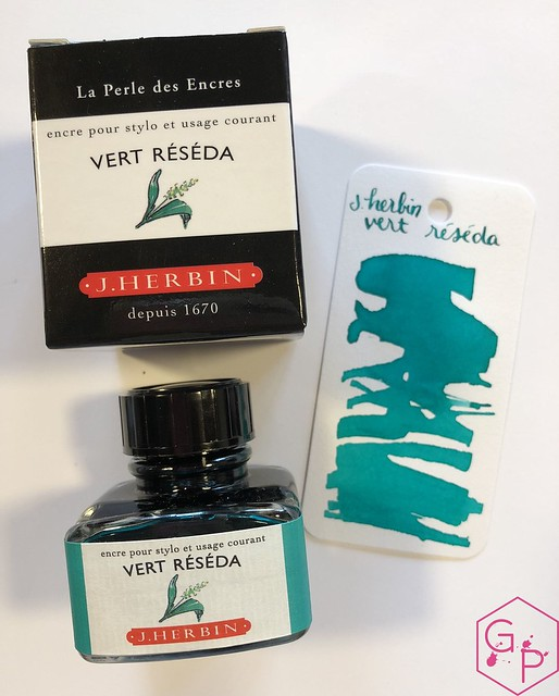 Ink Shot Review J. Herbin Vert Réséda @KnightsWritingC 2