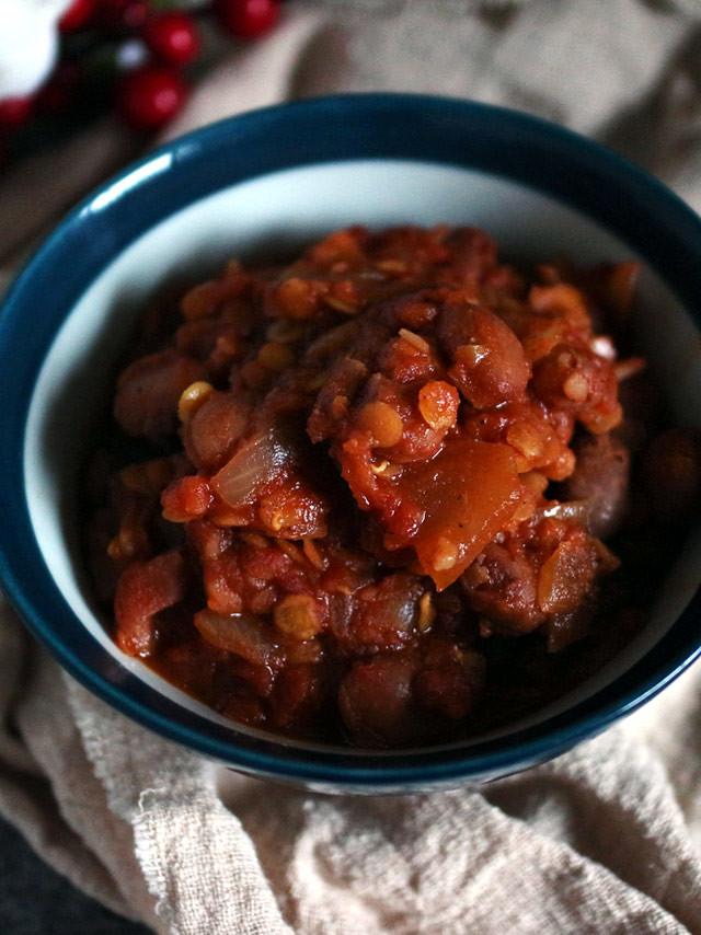 純素茄汁焗豆 vegan-baked-beans (3)
