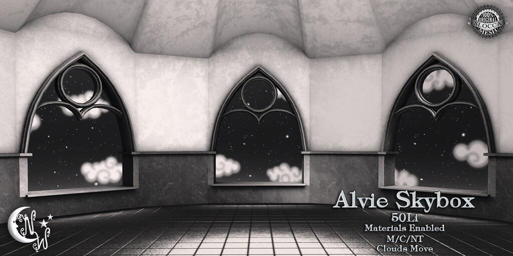 Alvie Skybox - black - TeleportHub.com Live!