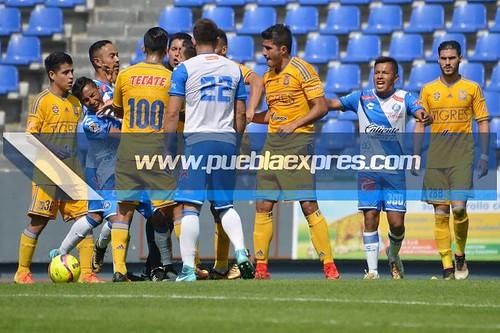 MVF_7263 TC2018 / SUB20 / J01 LIGA   Club Puebla vs Tigres de la UANL   Estadio Cuauhtémoc   Fotografías Mara González / Lyz Vega / Saúl Sánchez / Manuel Vela para Mv Fotografía Profesional / Edición y retoque www.pueblaexpres.com
