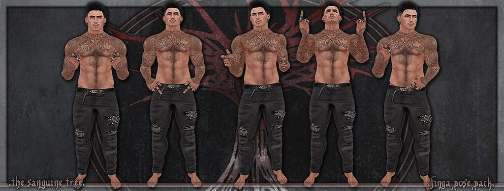 [ new release – finga pose pack ]