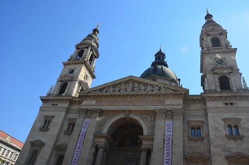Die Basilika des heiligen Stephan in Budapest