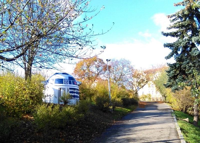 R2-D2 arte urbano
