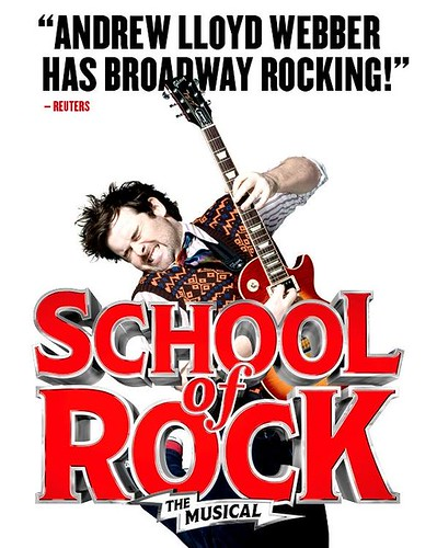 "Andrew Lloyd Webber's NEW ""School of Rock"" -- The Musical"