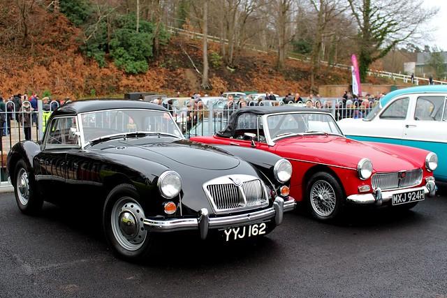 1961 MG A and 1969 MG Midget