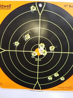 Ruger Old Army 25 yards offhand