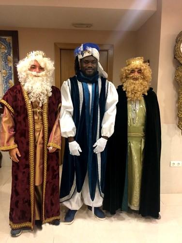 Los Reyes Magos en el Centro Social. Enero 2018