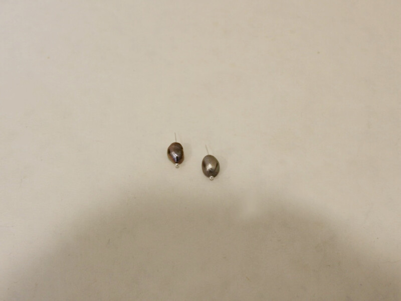 two pearls on pins