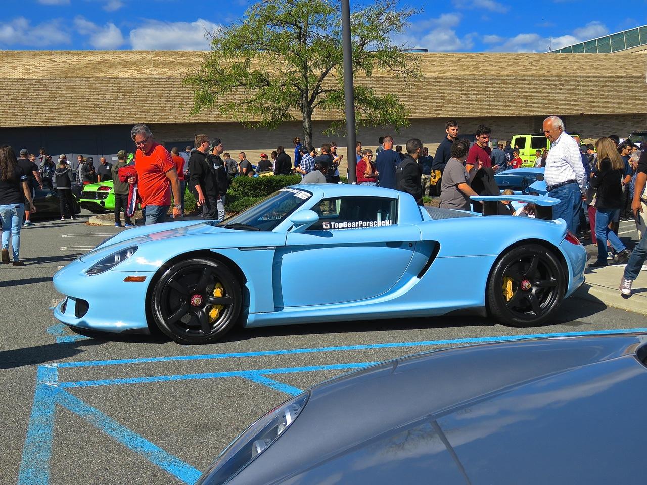 Baby Blue Porsche Carrera GT 10