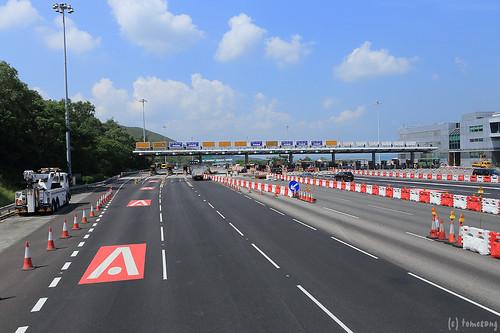 Lantau Link toll plaza