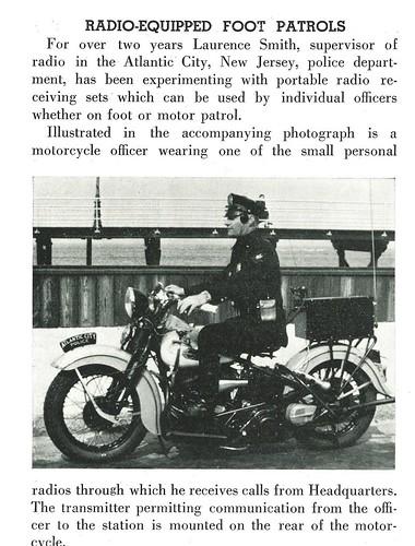 1942-Radio Foot Patrols