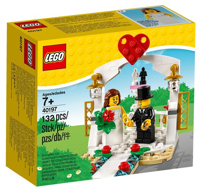 想婚惹~♥ 送給喜愛樂高的另一半吧!!LEGO 40187、40197【玫瑰花&雛菊、婚禮場景組】Seasonal Flowers、Wedding Favour