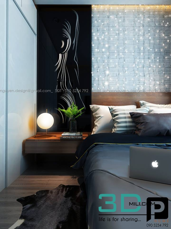 Bed Room 3dsmax File Free Download - 3D Mili - Download 3D Model - Free 3D  Models - 3D Model Download