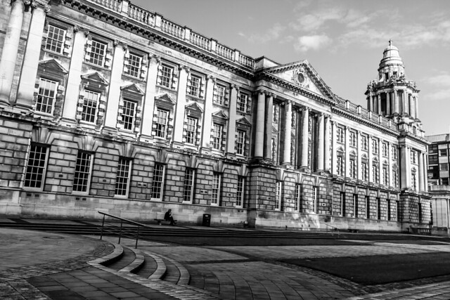 UK - Northern Ireland - Belfast - City Hall
