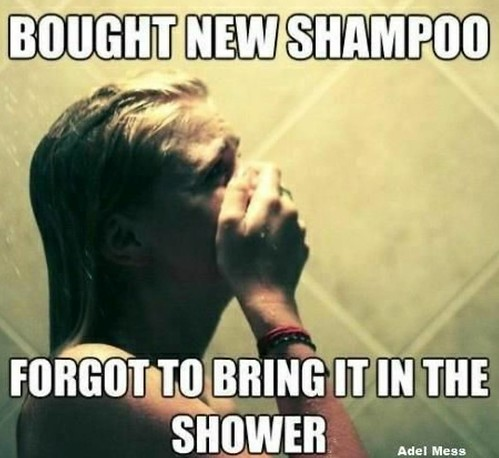 Happy Friday #laughblast !! It's #toocold  to be #running naked through your house!😂Don't forget your new #Shampoo 🚿 @ryanpatricksalon @goldwellus @bumbleandbumble @aveda