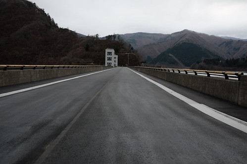 Lake Okutama Ogouchi dam reservoir 03